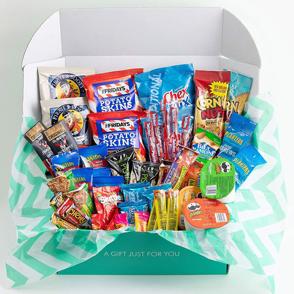 the care crate man box ultimate mens snack box care package