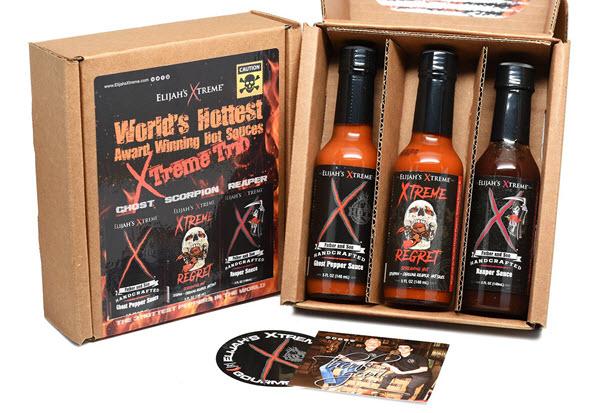 worlds hottest hot sauce gift set