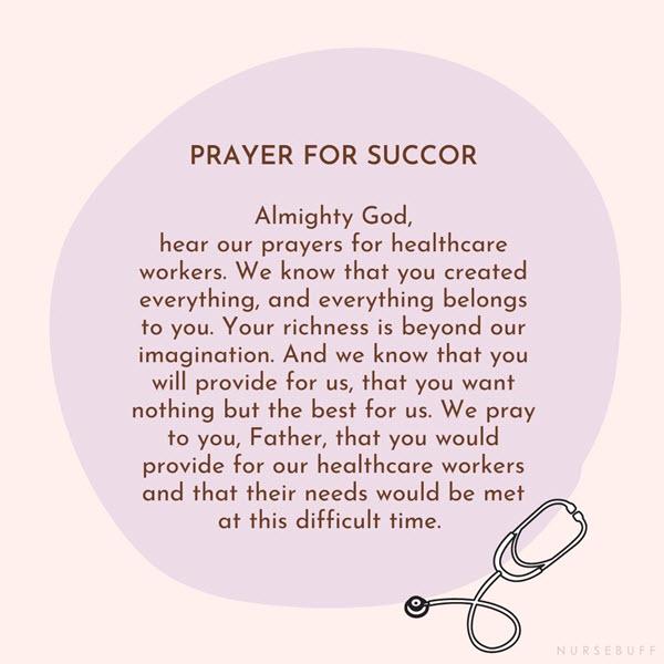 prayer for succor