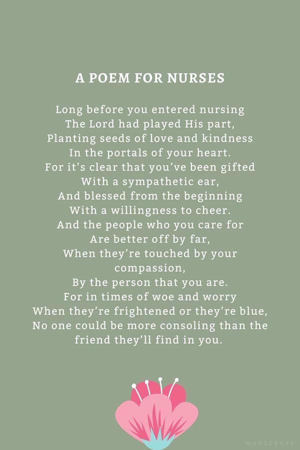 a poem for nurses