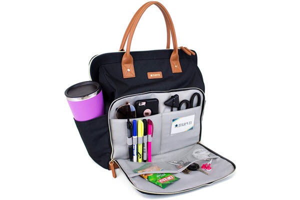 readygo maevn water resistant clinical tote backpack